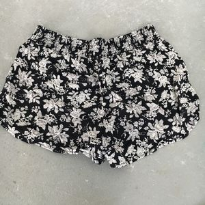 Forever 21 Fabric Floral Shorts
